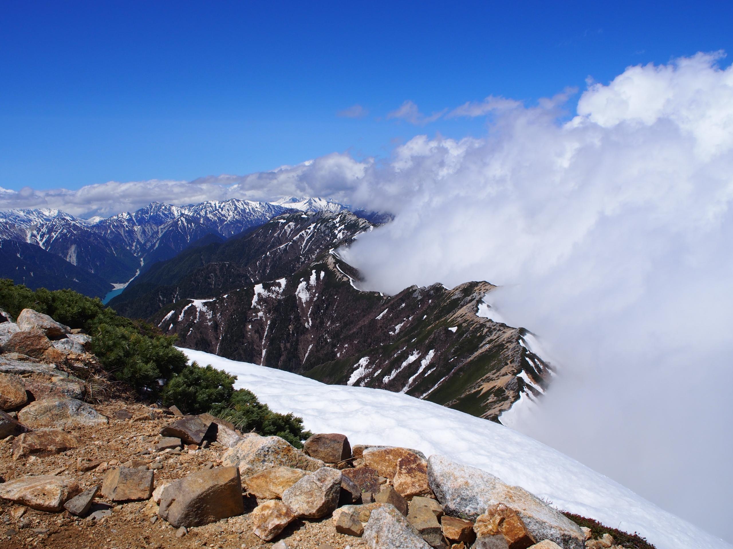 大天井岳から燕岳