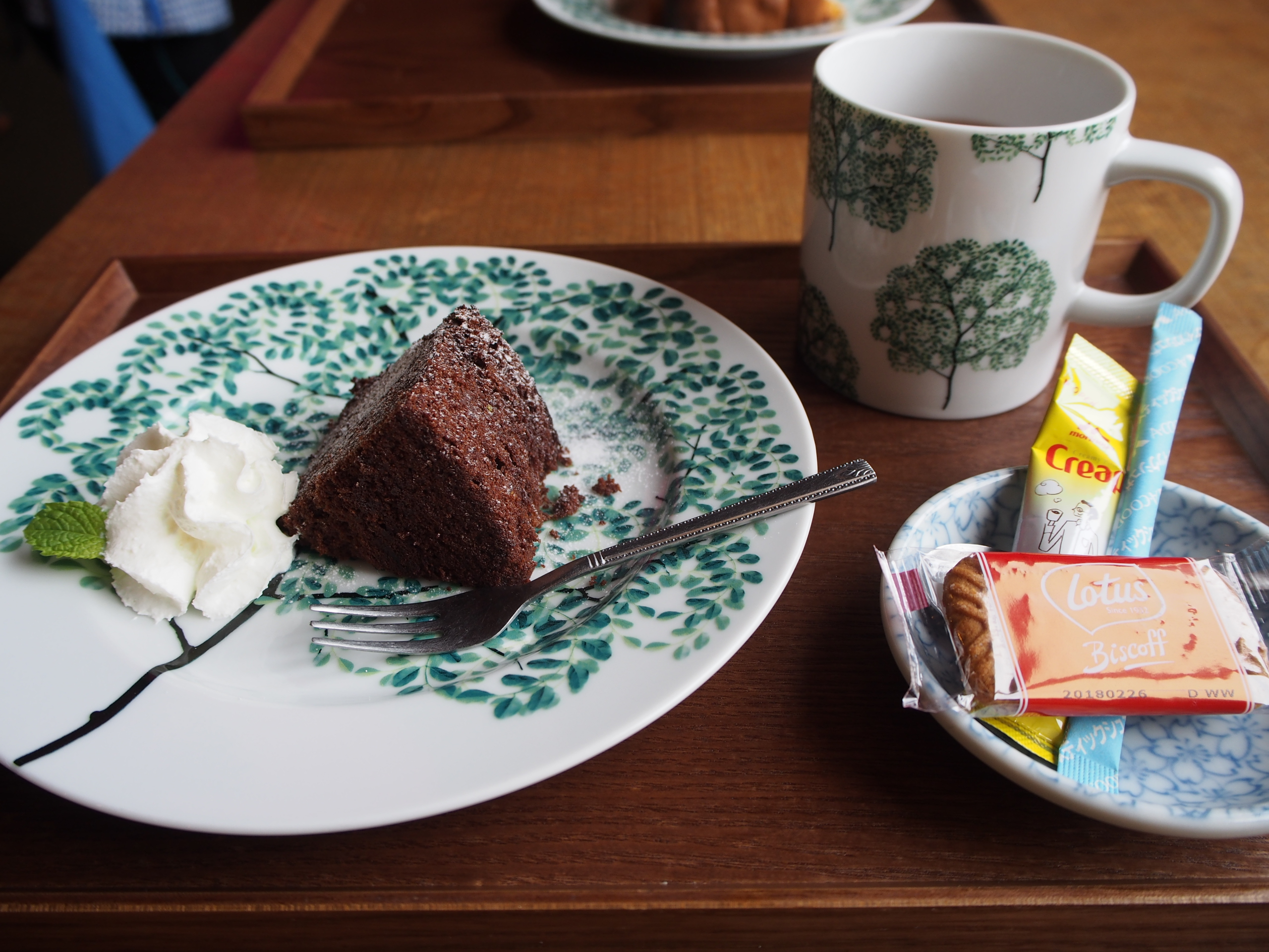 ぱんだ屋チョコケーキ