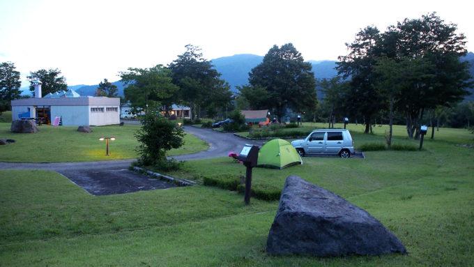 弓張平キャンプ場