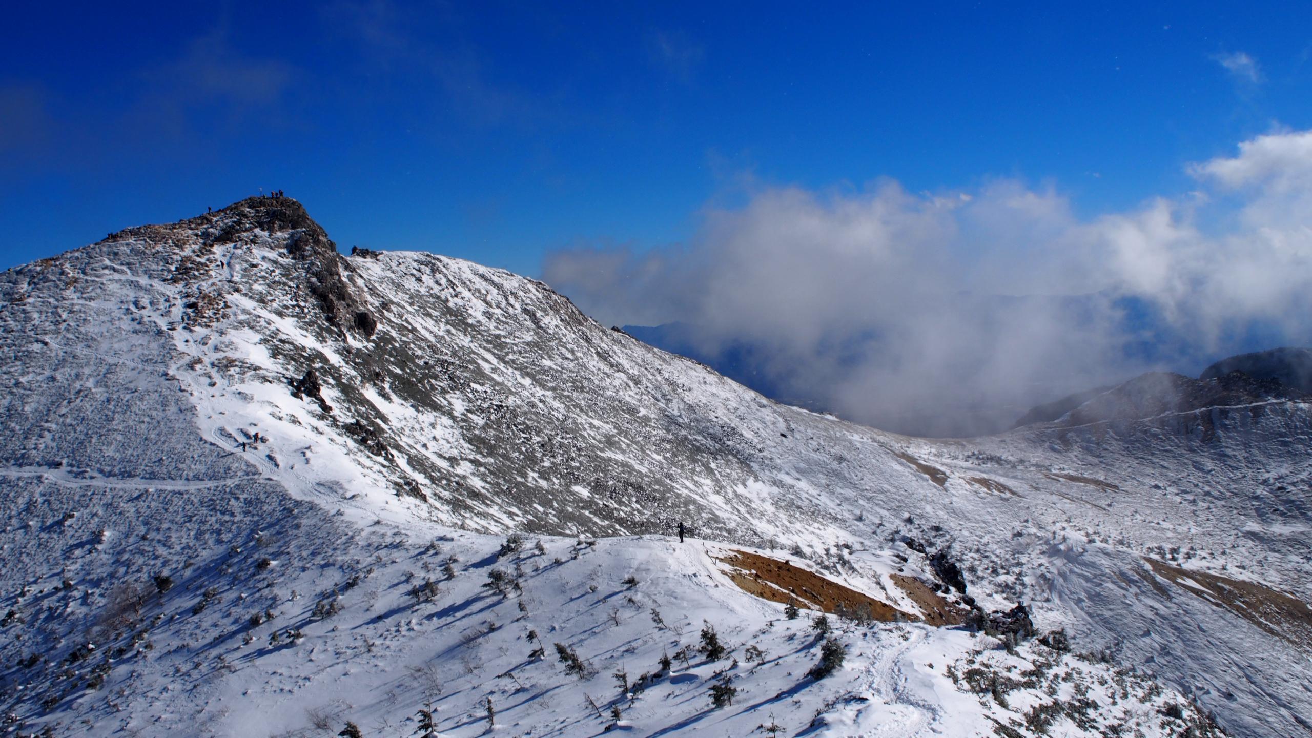 西天狗岳から東天狗岳の稜線歩き