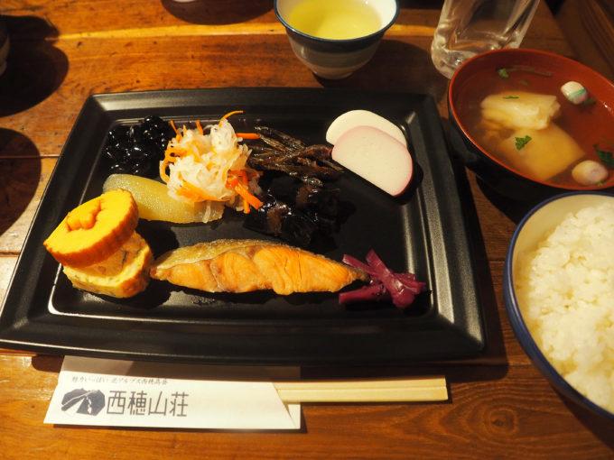 西穂山荘元旦の朝食