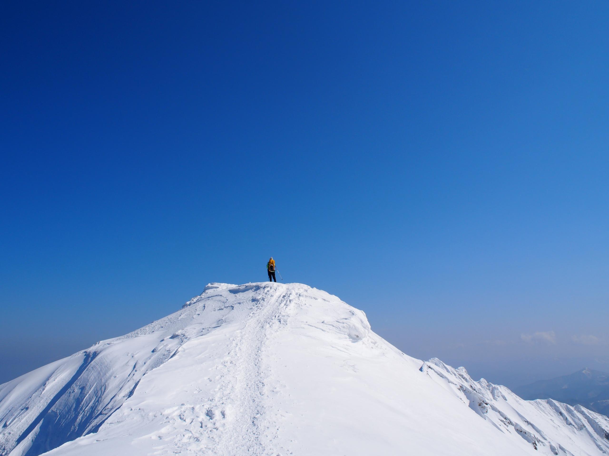 ここからの剣ケ峰最高の絶景でした