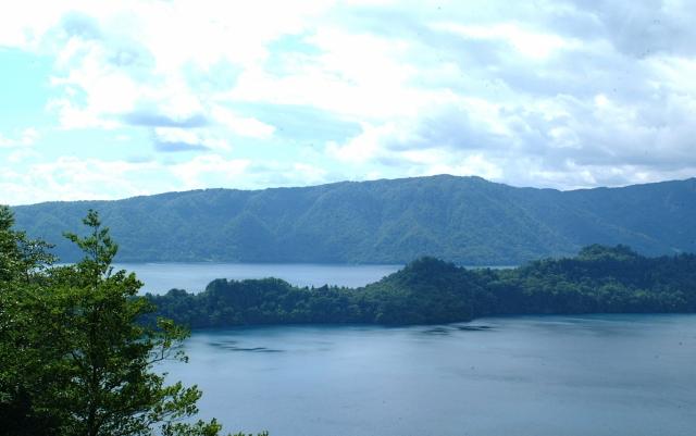 十和田湖フリー素材2