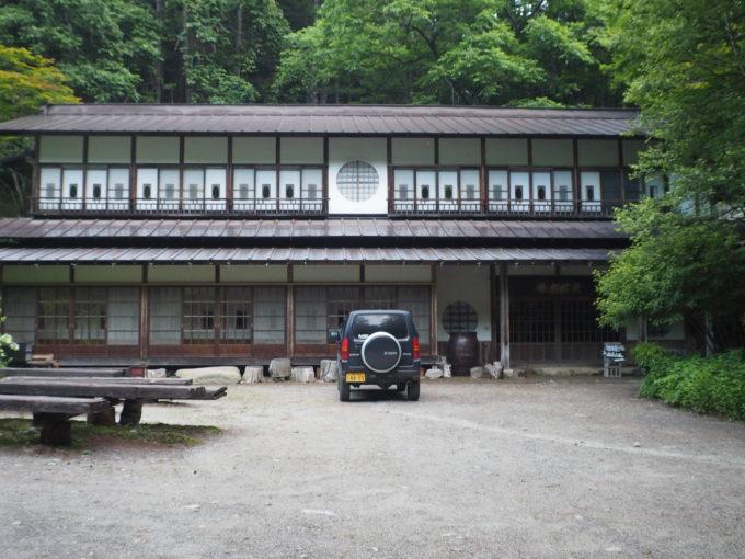 青木鉱泉の建物